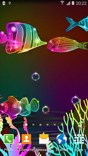 3d Effect Live Wallpaper V Apk Neon Fish Live Wallpaper 1 0 8 Apk By Live Wallpapers 3d