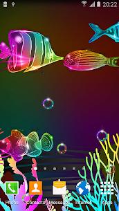 Neon Fish Live Wallpaper 1