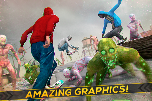 Skateboard Pro Zombie Run 3D 2.11.2 screenshots 2