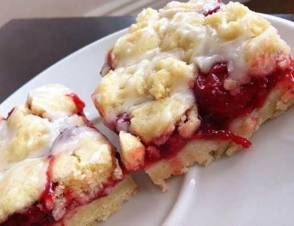 Cherry Almond Pie Bars Recipe