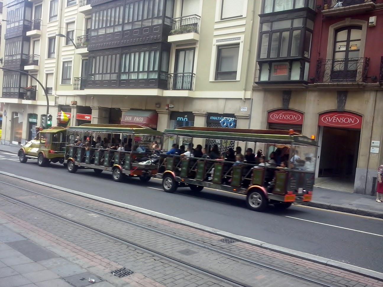 tren turístico Bilbao Semana grande 2015