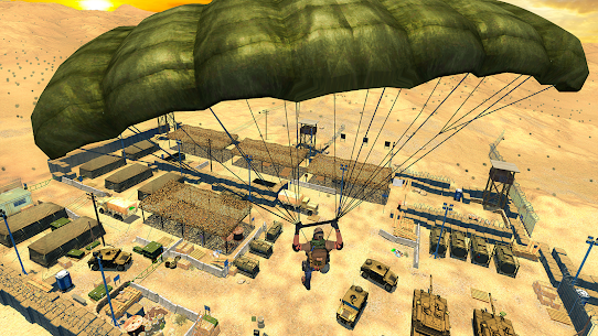 Free Firing Battleground: Fire Free Squad Survival 2