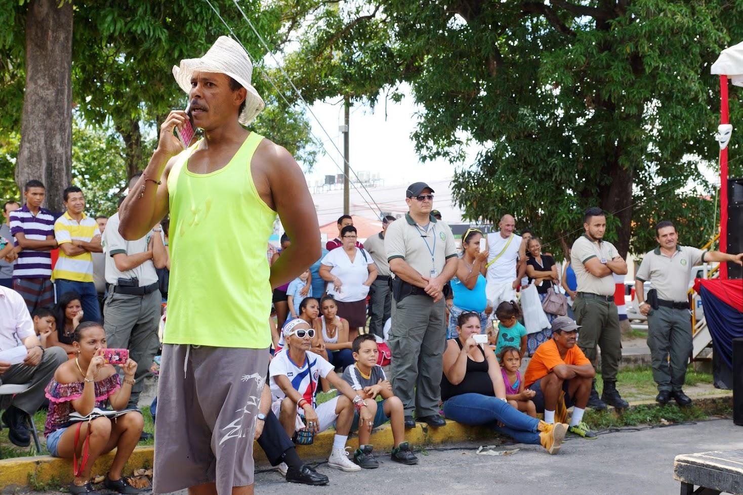 LIBERIA ABRIÓ PUERTAS A MÚSICA, TEATRO, BAILE Y ARTE DEL SISTEMA PENITENCIARIO