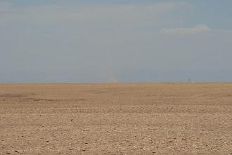 Photo: Wüste mit Sandhose