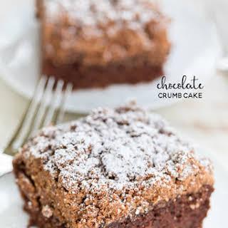 Chocolate Crumb Cake.