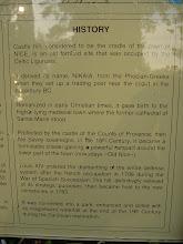 Photo: A summary of the area's history.