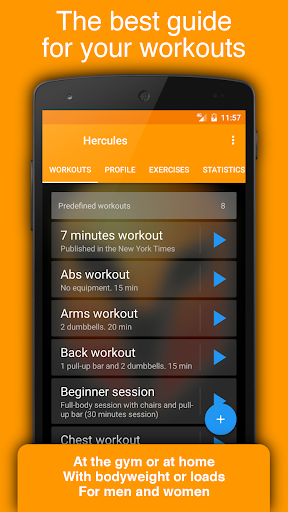 Workout Tracker & Gym Trainer - Fitness Log Book screenshot 1