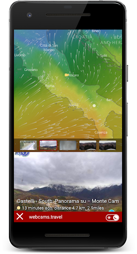 Rain Radar - Animated Weather Forecast Windy Maps 1.0 screenshots 6