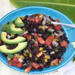 Jamaican Me Confetti Black Beans .