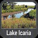Lake lcaria - IOWA GPS Map icon