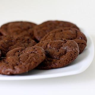 Double Chocolate Chunk Cookies.