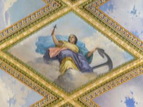 Photo: Capilla del obispado: Alegoría de la Esperanza