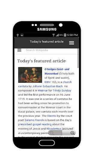 SearchPedia For Wikipedia