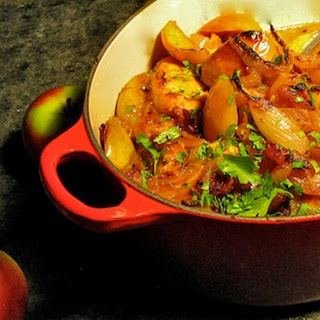 Apple Cider Chicken with Caramelized Onions and Apples Recipe