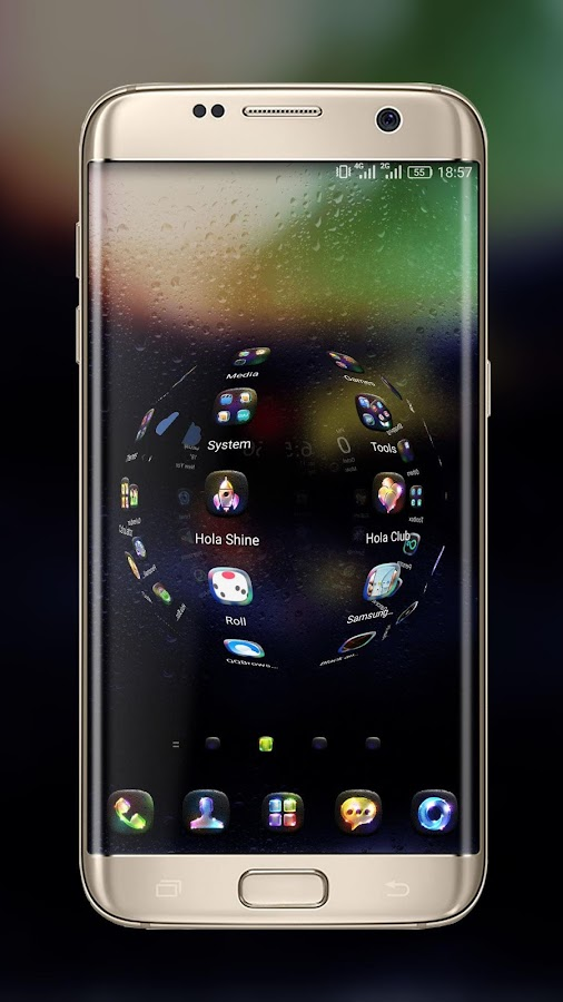 Luminous Hola Launcher Theme- screenshot