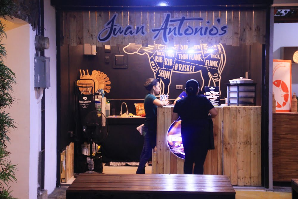 Juan Antonio Steak House Stall