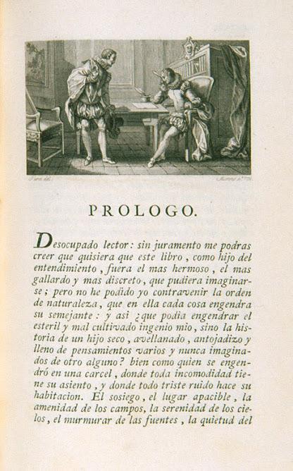 Sobre el Prólogo a la Primera Parte del Quijote