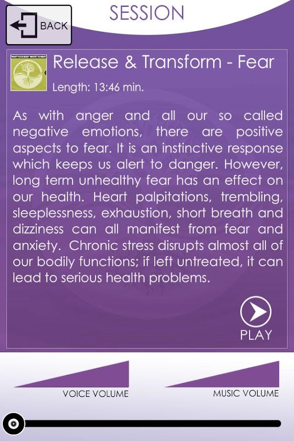 Heal And Transform Meditations- screenshot