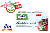 Angebot für Toppits® Öko Gefrierbeutel im Supermarkt - Toppits
