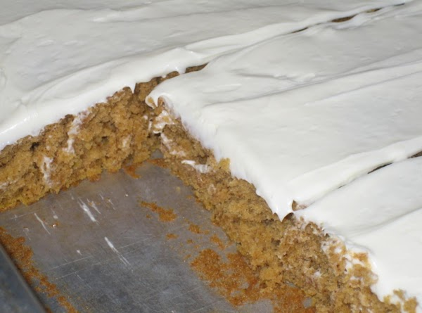 Frosted Pumpkin Bars Recipe