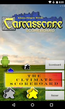 Carcassonne Scoreboard