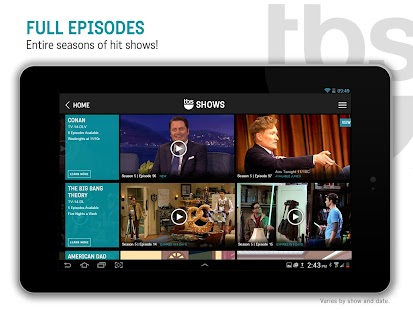 Watch TBS- screenshot thumbnail