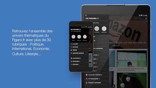Le Figaro.fr: Actu en direct 5.1.23 screenshots 12