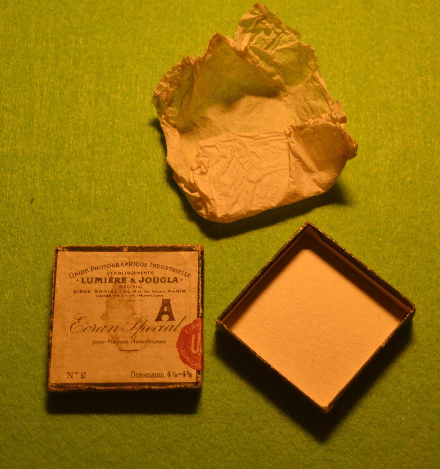 Union Photographique Industrielle Lumière & Jougla - Ecran Special - Gelbfilter - 1911 - 1928