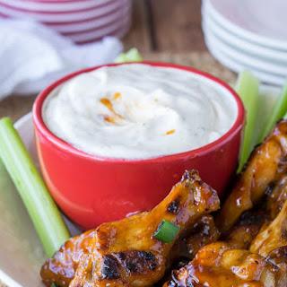 Easy Baked Honey BBQ Wings.