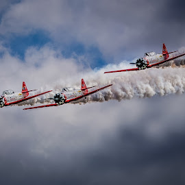 Team Aeroshell by Rodney Rodriguez - Transportation Airplanes