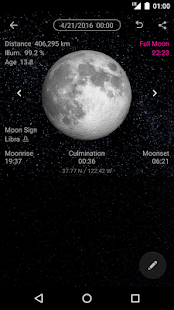Simple Moon Phase Calendar- screenshot thumbnail
