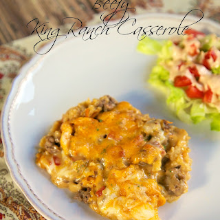 Beefy King Ranch Casserole