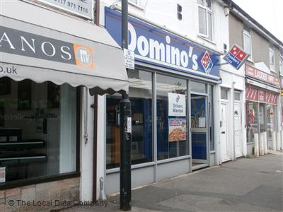Dominos Pizza On West Town Lane Pizza Takeaway In City