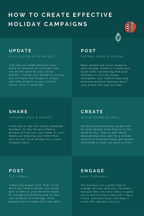 Holiday Campaigns - Pinterest Pin Template