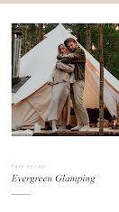 Glamping Trip Recap - Instagram Story item
