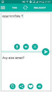 Malagasy Thai Translator - náhled