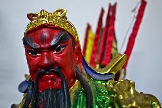 Photo: Guan Yu, l'homme devenu dieu de ses propres mains.