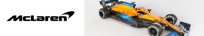 2020F1新車発表マクラーレン