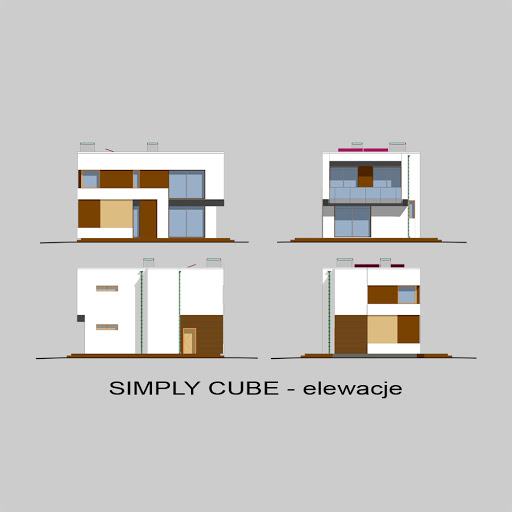Simply Cube - Elewacje