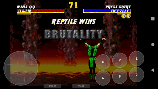 Retro Game Emulator (MD2/GENESIS) android2mod screenshots 5