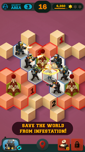 Zombie Sweeper: Minesweeper Action Puzzle 1.1.015 screenshots 2