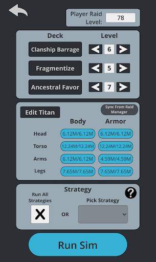 TT2 Raid Optimizer screenshots 6