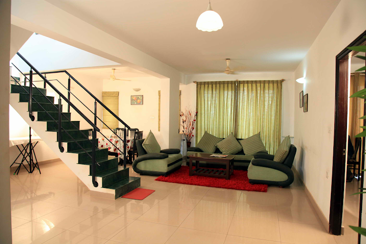 Cosy living area in Manyata Tech Park Residences