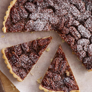 Pecan and Coffee Liqueur Tart