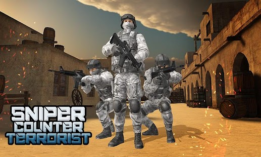 Counter Terrorist Commando War - SWAT Army Strike - náhled