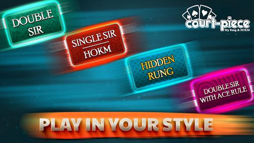 Court Piece - My Rung & HOKM 2.7 {cheat|hack|gameplay|apk mod|resources generator} 1
