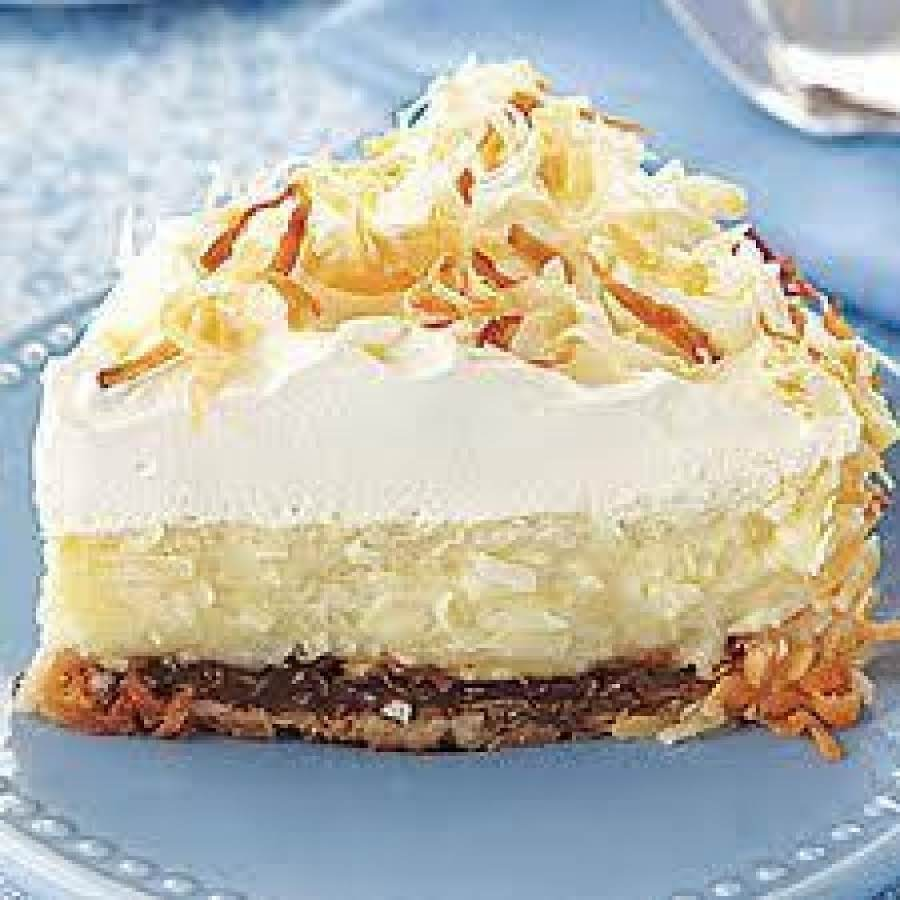 Double Coconut Cream Pie Recipe 2  Just A Pinch Recipes-2924