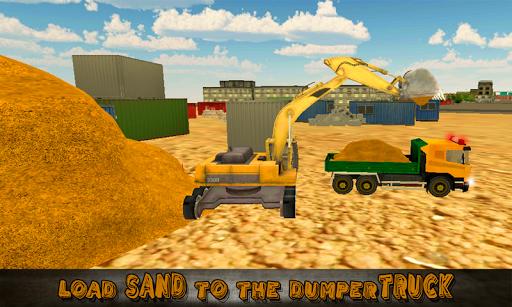 Heavy Excavator Truck Sim 3D
