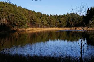 Photo: ein kleiner See am Rande der E39