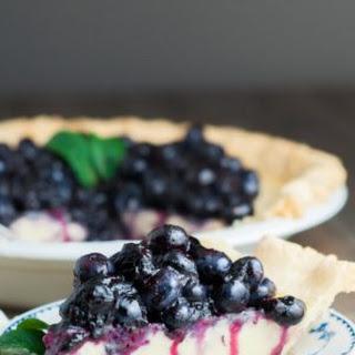 Fresh Blueberry Buttermilk Pie
